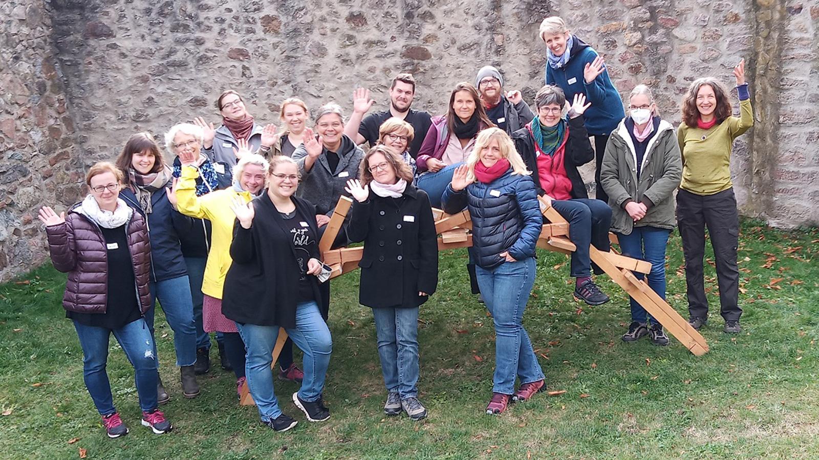 Das Pflege- und Ärzte-Team (Teamtag 2010)