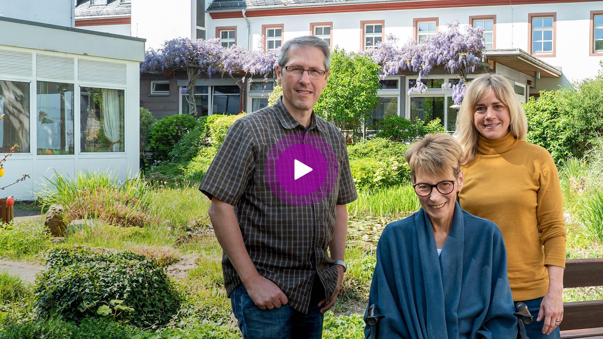 Video: Sterben im Christophorus-Hospiz: Der Tod gehört zum Leben dazu