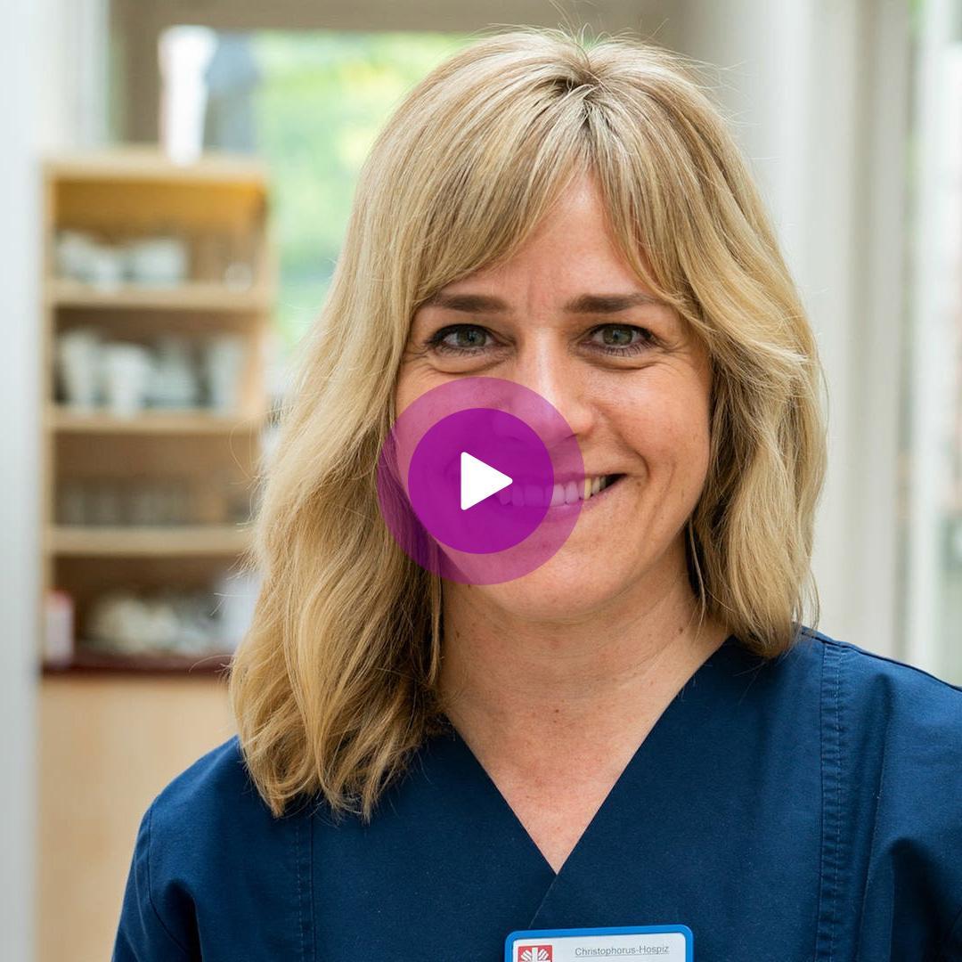 Video: Pflegerin Patricia Mollnau sieht ihre Arbeit im Hospiz als Berufung